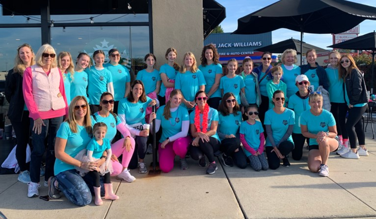 2021 Women's 5K Classic team